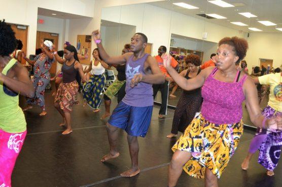 African Dance Class @ Little Haiti Cultural Complex