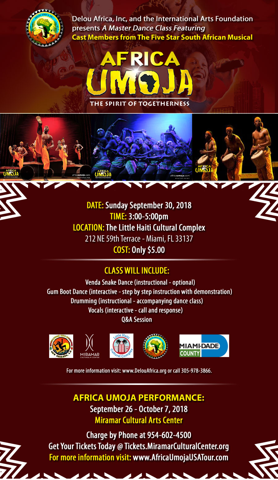 Dancing With Haitians At La Fete De >> Events Delou Africa Inc