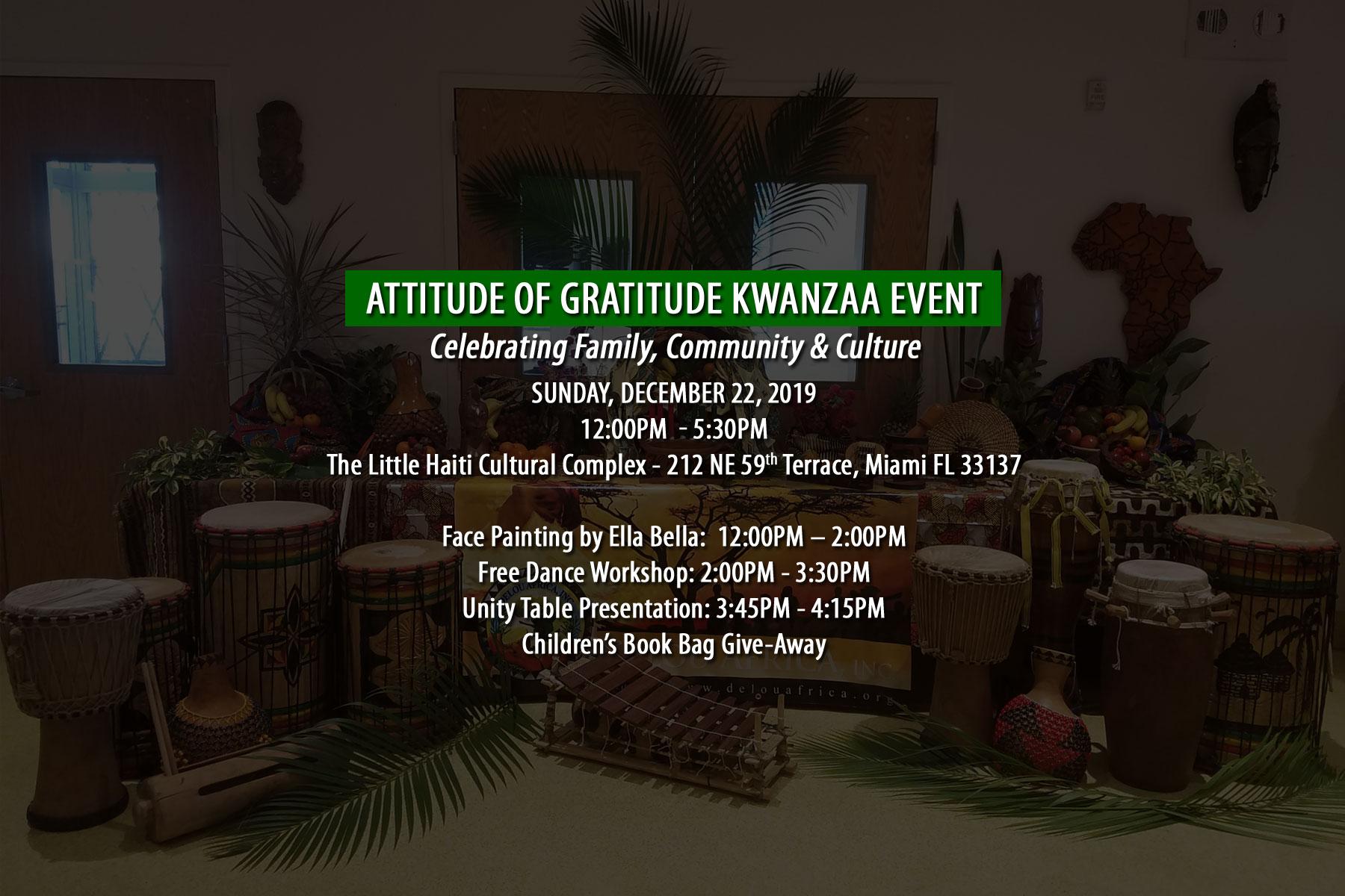 2019 Kwanzaa event announcement