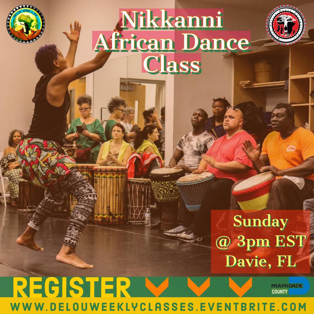 African Dance Blended Community Class