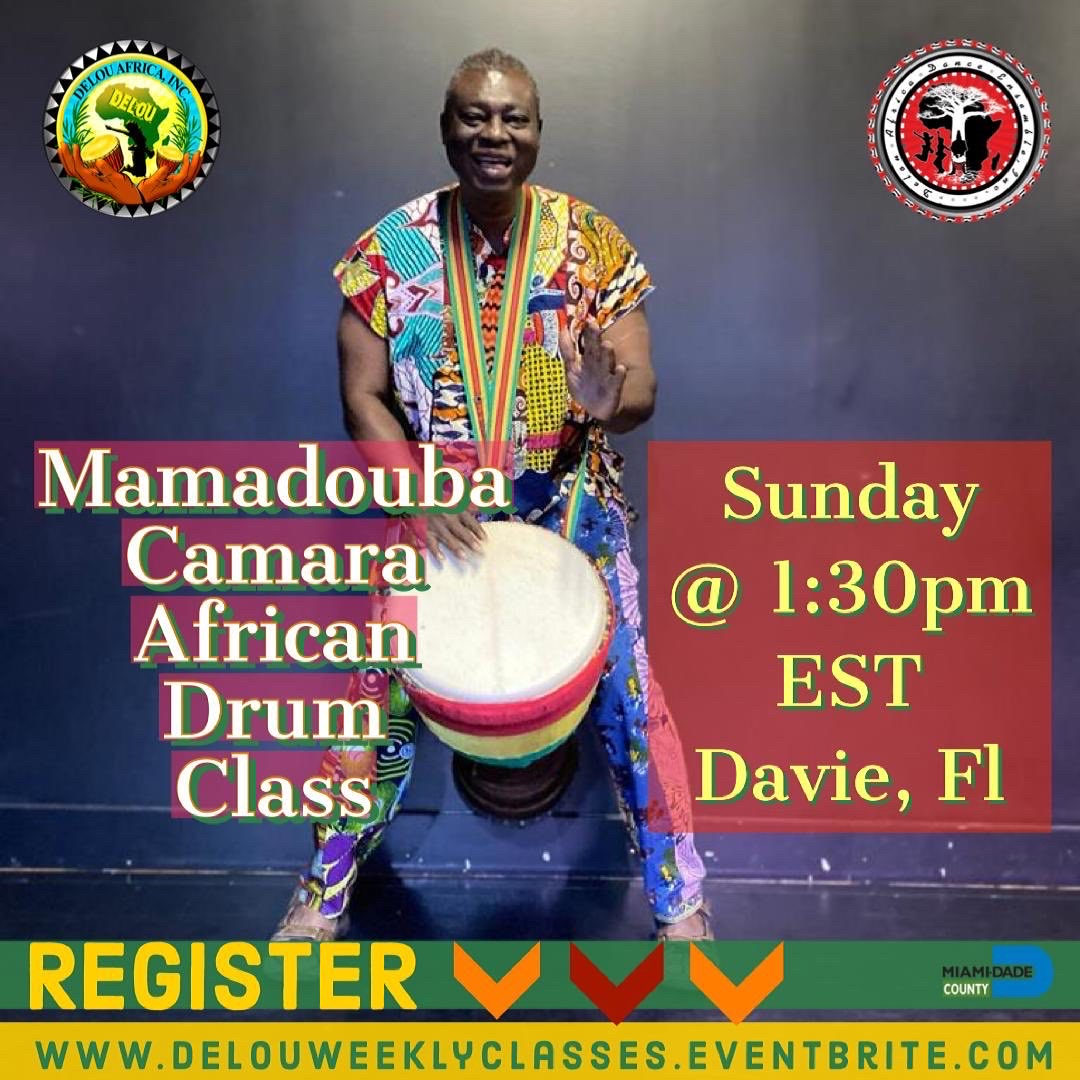 African Drum & Music Blended Community Class