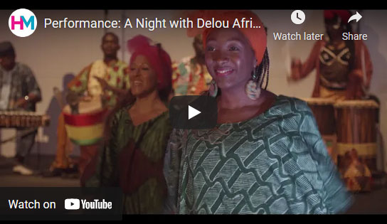 A Night with Delou Africa Dance Ensemble